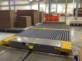 chain-driven live roller conveyor