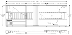 power accumulating roller conveyor schematic